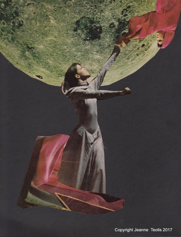 Gravity Paper collage Jeanne Te - jeanneteolis | ello