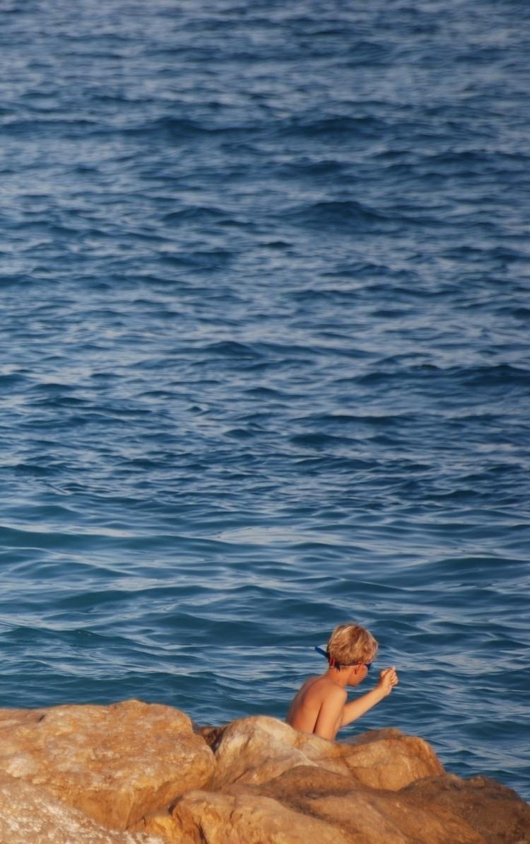 young boy fishing - photo, photography - abigailgaritan | ello