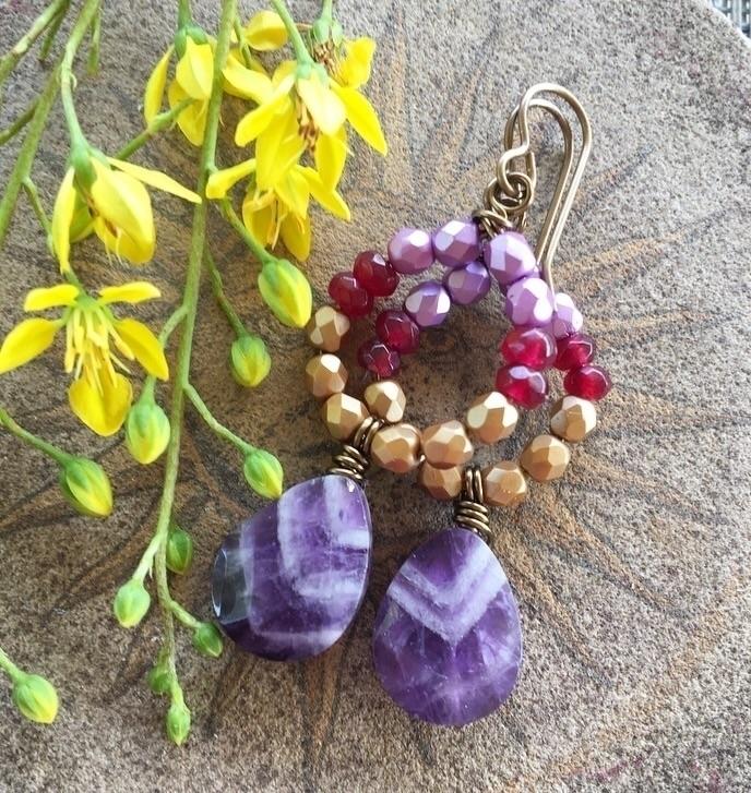 Dangle Earrings added shop Sund - brynnajewelrydesigns | ello