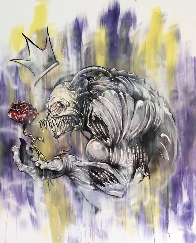 wall mural books! bionic beast  - tlamph | ello