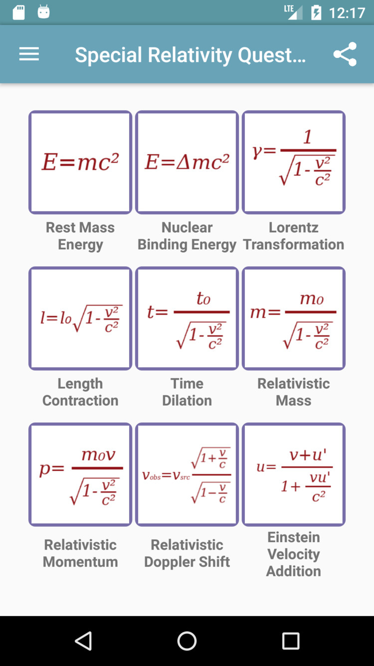 Special Relativity Questions ap - drmichaeltodd | ello