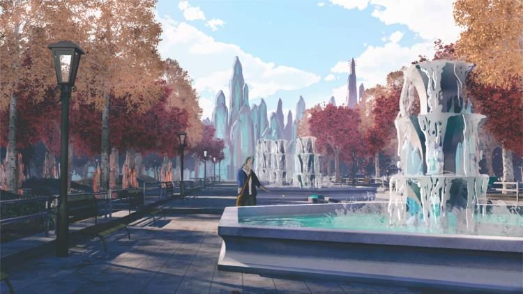 Escape - Crystal Fountains - 4 - dzajko | ello