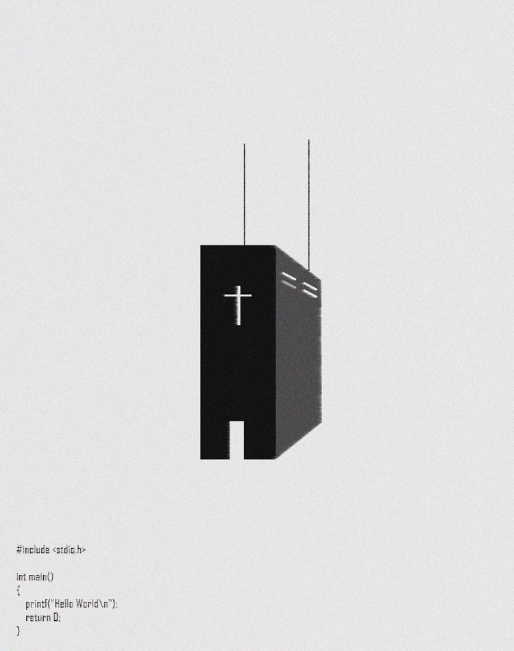 CPU - design, illustration - emmanuelachusim | ello