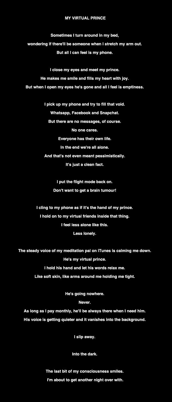 poetry, loneliness, insomnia - hi_fny   ello