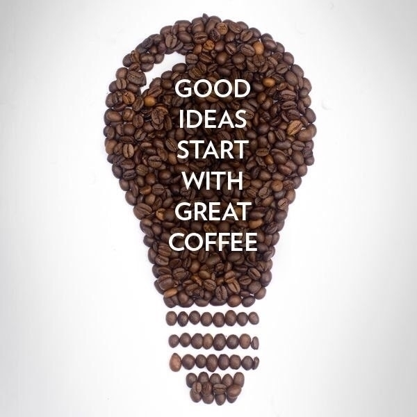 Good ideas start great coffee!  - ellocoffeelovers | ello