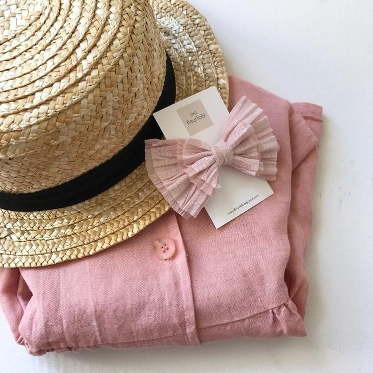 Pink Luxe bows - fleurfolly | ello