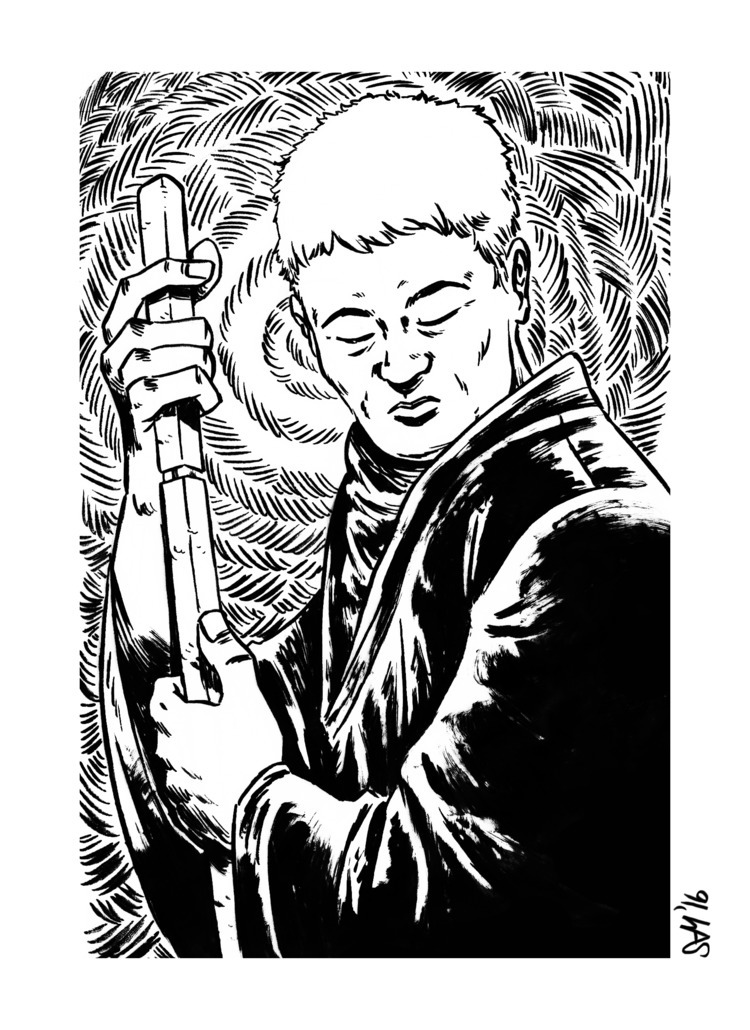 Zatoichi, movie, Zatoichi - art - altsam | ello