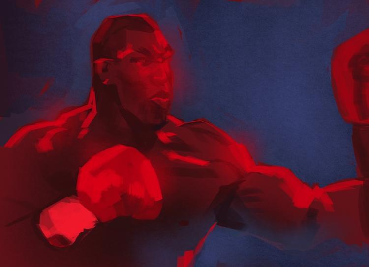 IRON MIKE - boxing, athlete, portrait - evandileo | ello