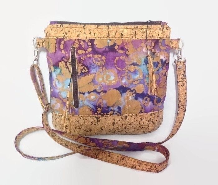 Fabulous batik cork cross body  - beesattic | ello
