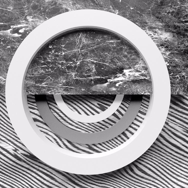 Zebra Marble Circles   - render - momosby   ello