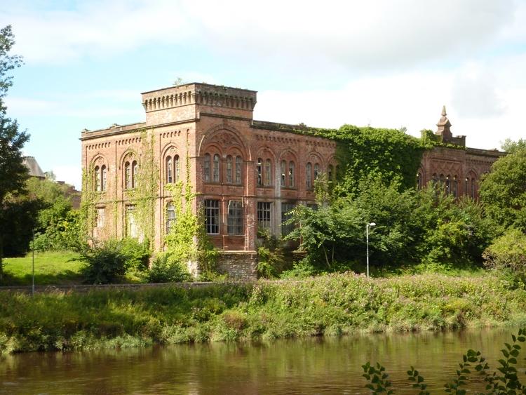 Rosefield Mills, Dumfries, buil - firehorsetextiles | ello