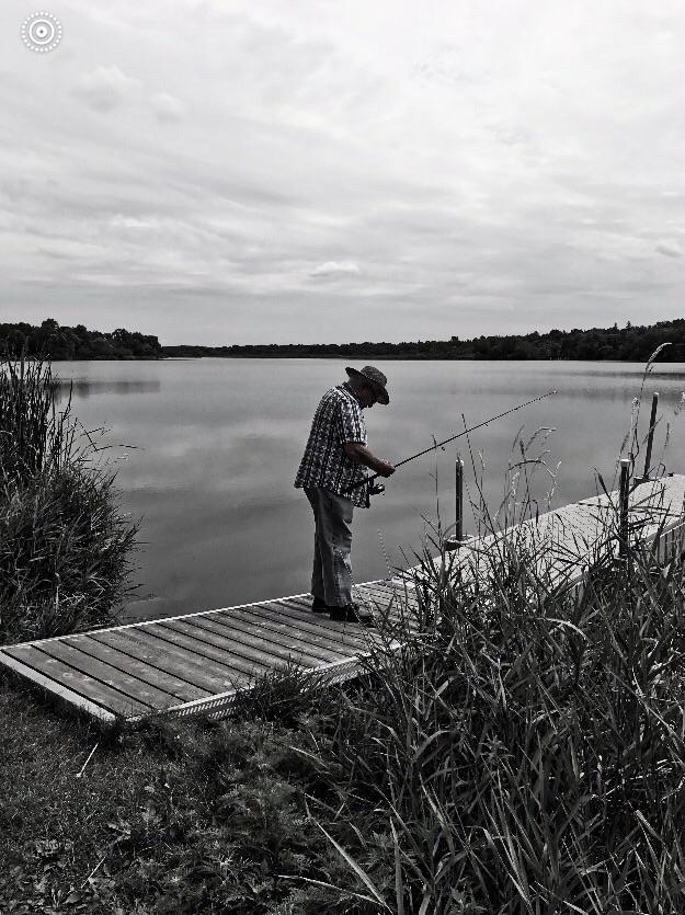 Private Fishing Hole. Karen Exi - exinerartstudio | ello