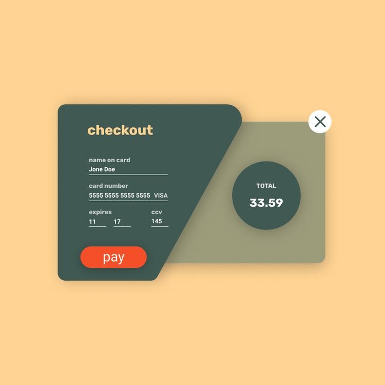 Daily UI Checkout - 002, productdesign - dominikkalita | ello