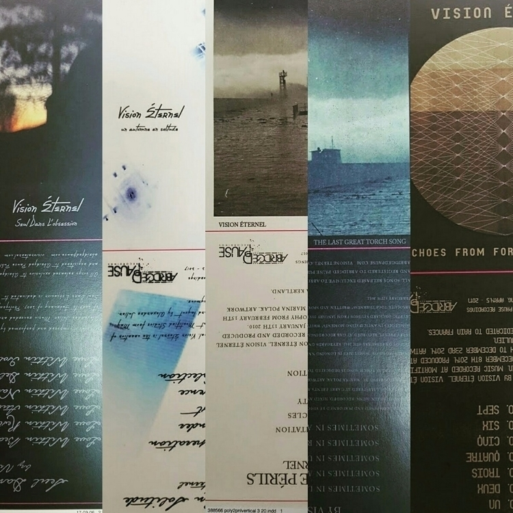 Compact Disc sleeves proofs app - visioneternel | ello