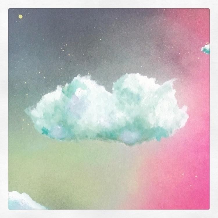 Cloud study - surreal, cloud, cloudporn - lottienorton | ello