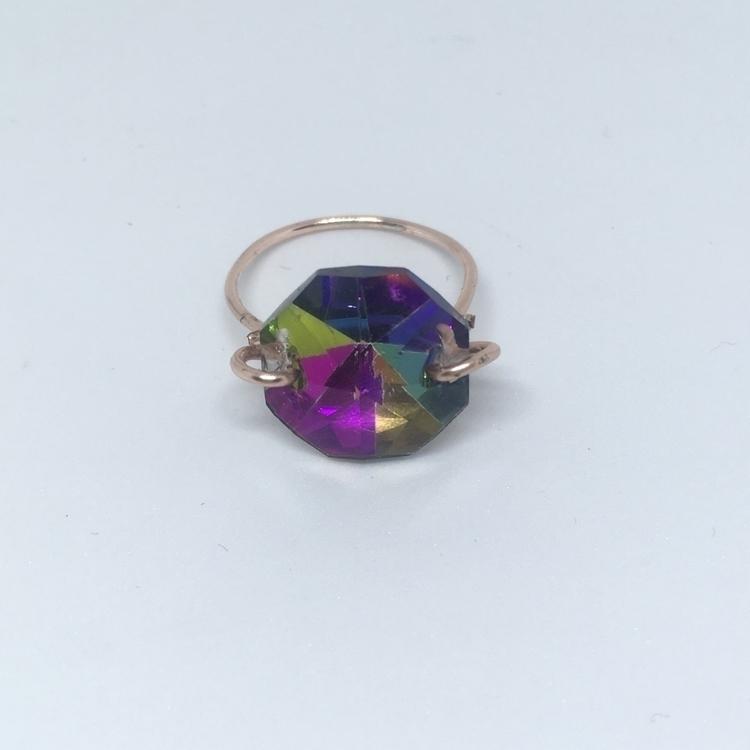 electroplated, wire, ring, handmade - lottienorton | ello