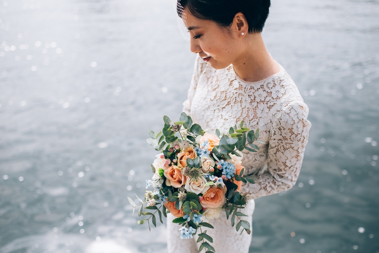 wedding, coolbride, elopement - amandathomsen   ello