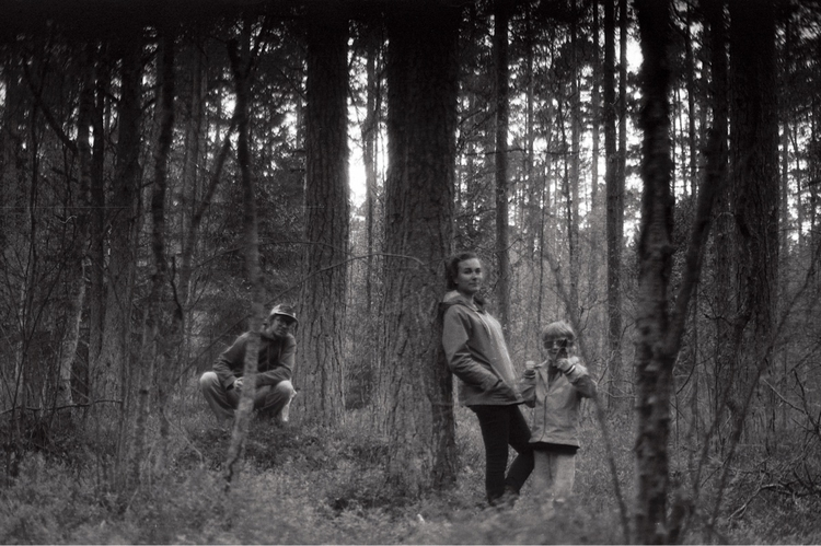 forest family - blackandwhite, filmneverdies - raidokuurmaa | ello