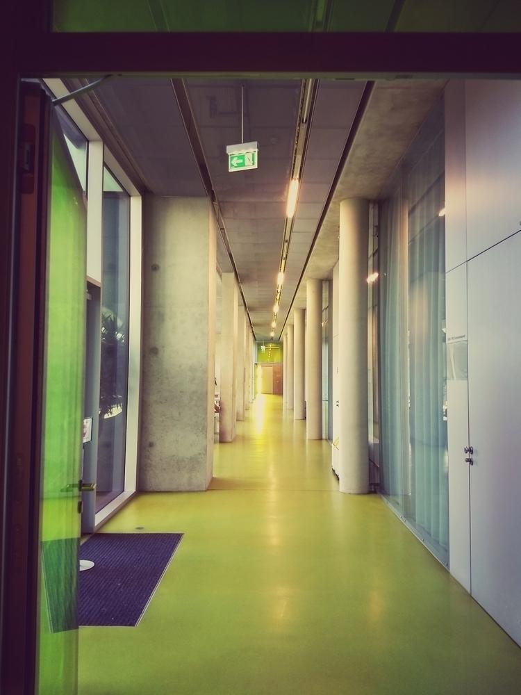 corridor, architecture, university - claudio_g_c | ello