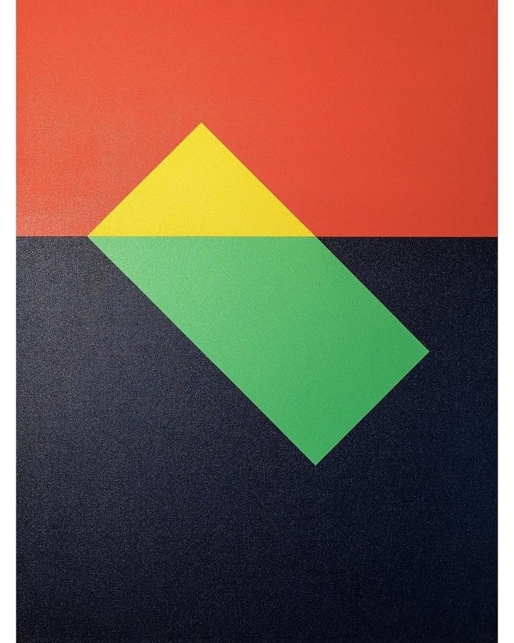Tilt 30 40 Acrylic canvas  - ContemporaryArt - andrew_faris | ello