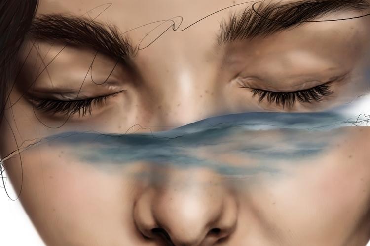 Dialogue II Instagram - art, artwork - xgardenia | ello