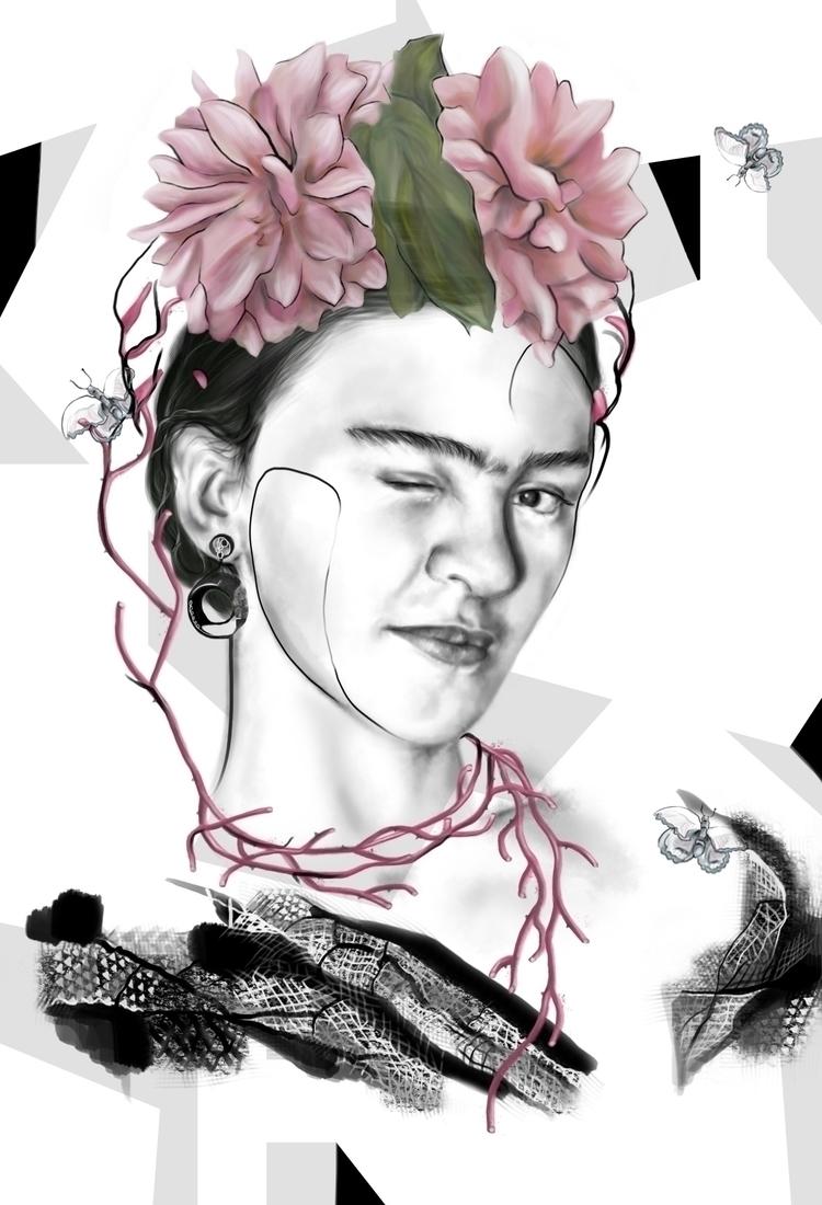 Frida Frida: Realidad en sueños - xgardenia | ello