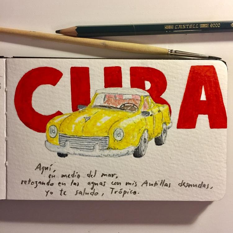 Sketches Cuba — Viñales, 24.7.2 - a-y-c | ello