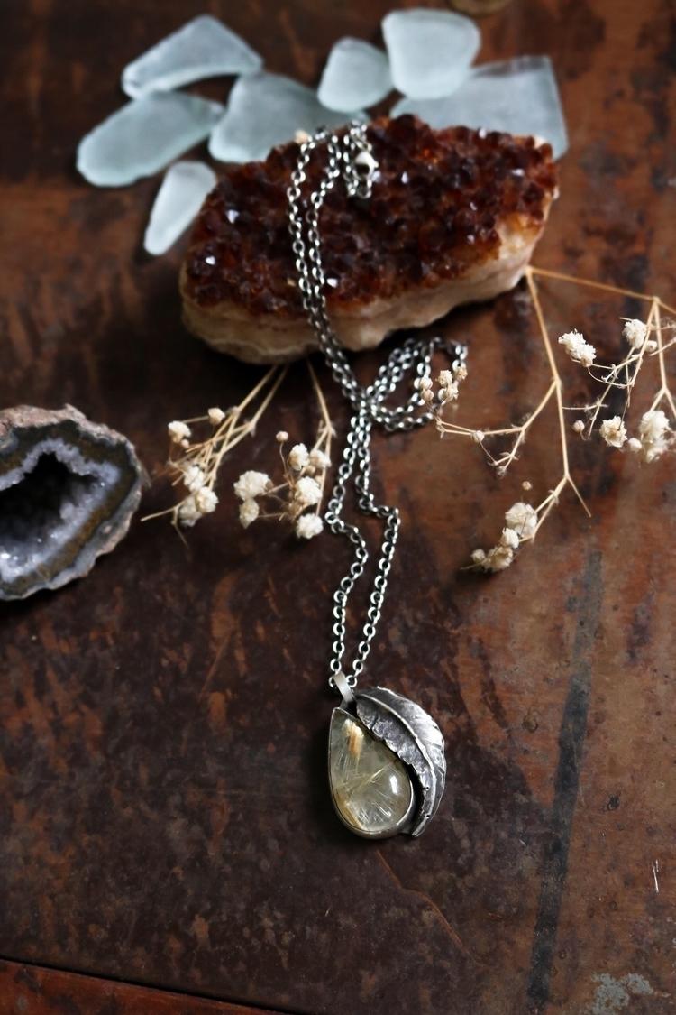 golden rutilated Quartz dreammm - janaprancejewelry | ello