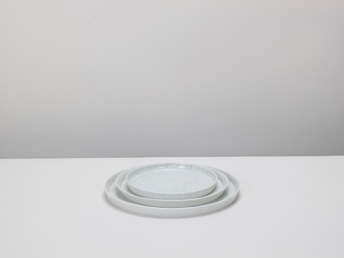 3 sizes pepper white porcelain  - elliottceramics | ello