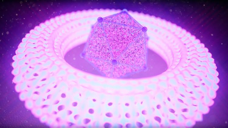 𐱈Ξ◕𐱈 donuts - glowy - 3D, render - mitchfornever | ello