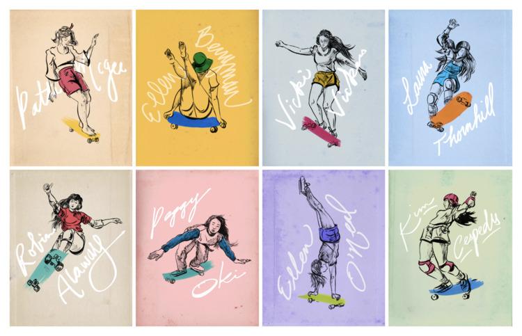 SKATERS personal illustration s - vivianshih | ello
