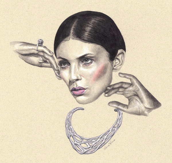 Illustration Collaboration Xove - laurahines | ello
