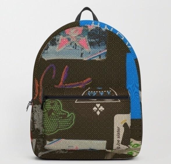 Street art style backpack - backtoschool - trinkl | ello