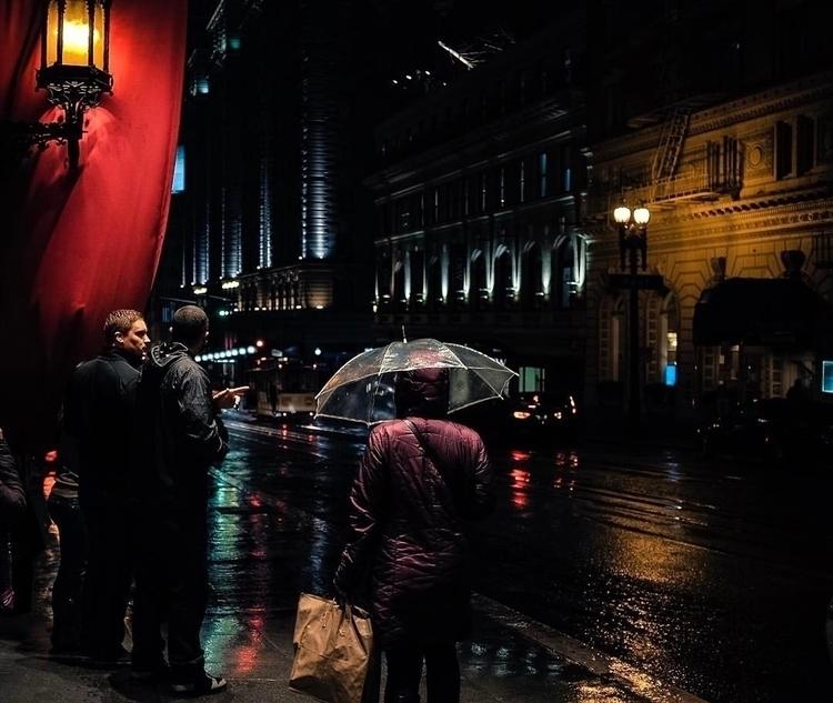 San Francisco Rainy Night - jmazzei | ello