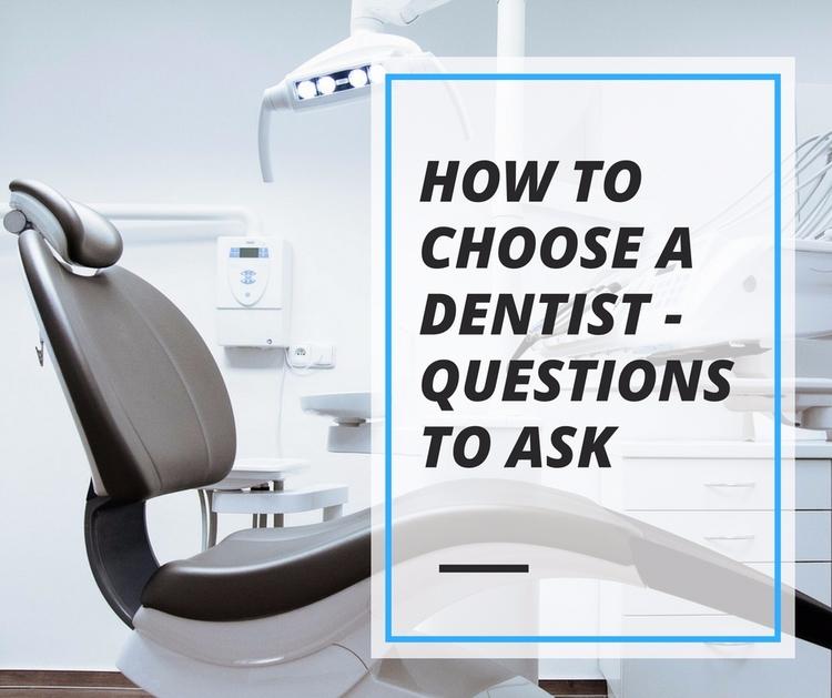 Choose Dentist - Questions impo - stvincentsmile   ello