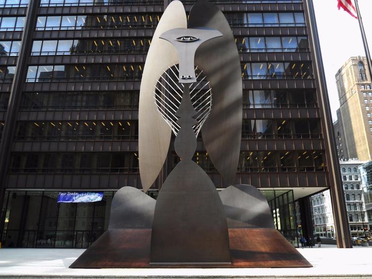 Chicago Picasso - art, picasso, sculpture - valosalo | ello
