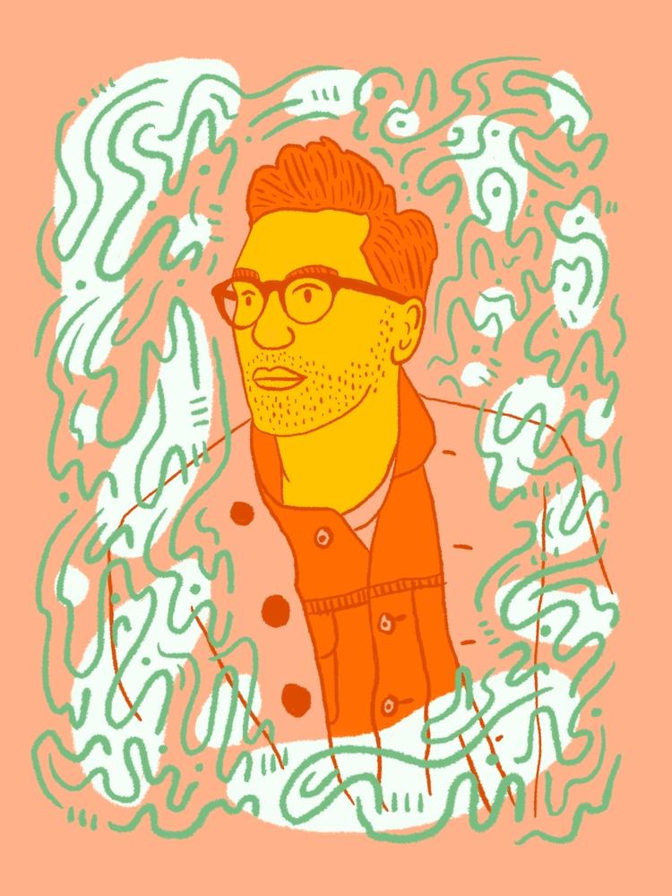 Daydreamin - illustration, illustrator - heybop | ello