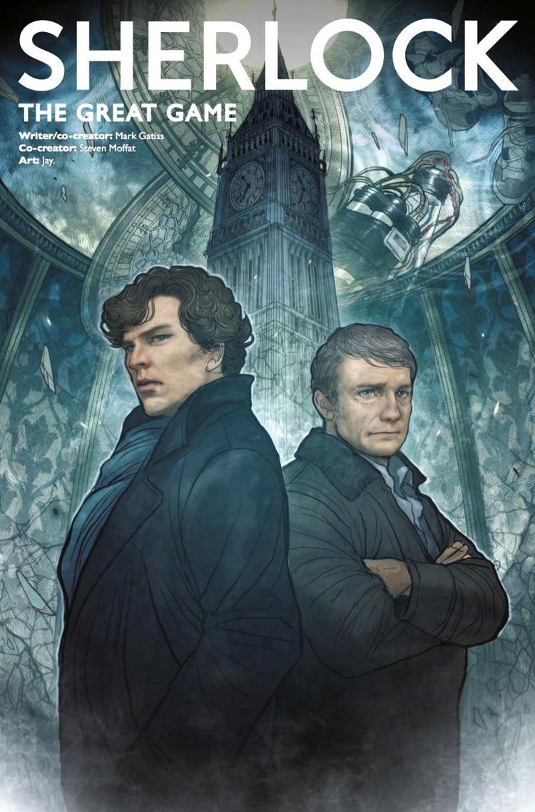 Sherlock: Great Game Review cau - comicbuzz | ello