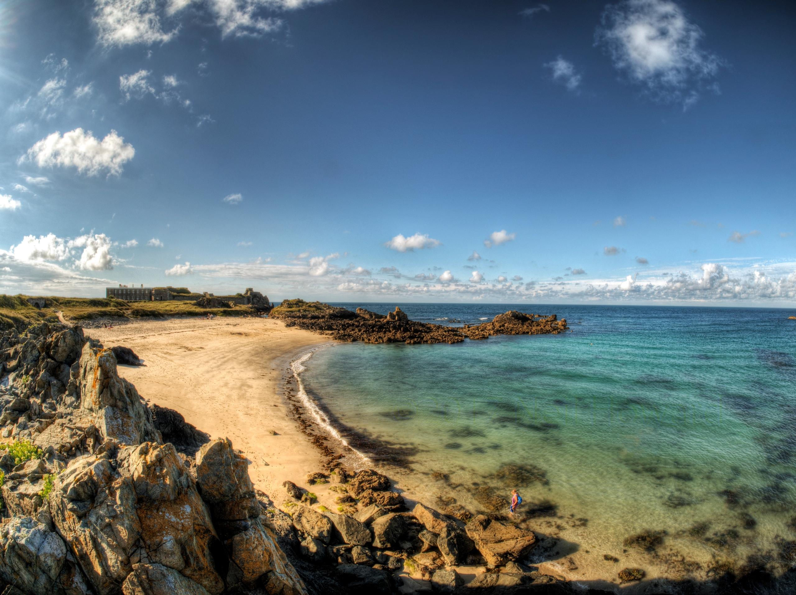 Arch Beach, Alderney - Beach is - neilhoward | ello