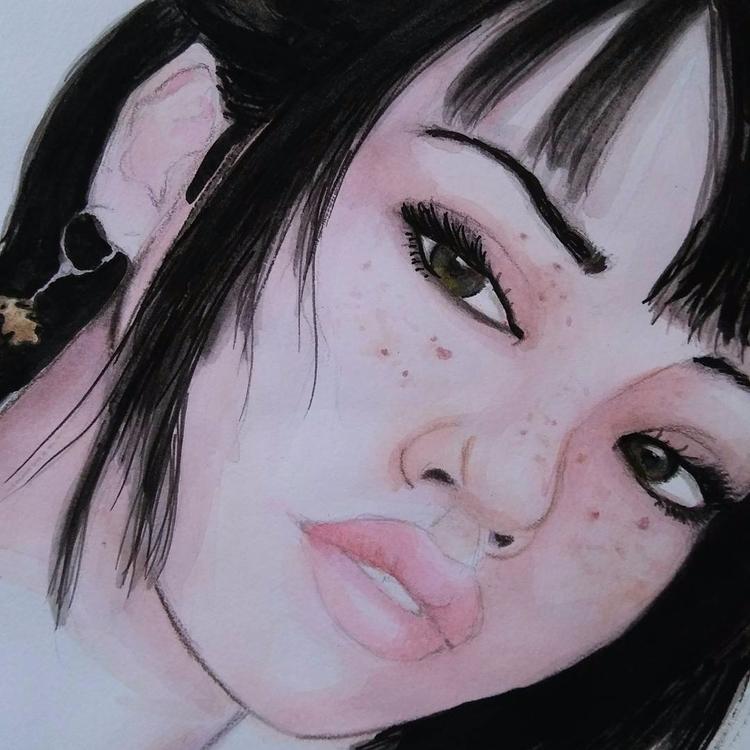 art, watercolor, coloredpencils - robox | ello