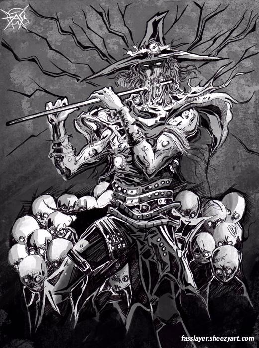 17-8-10 - hamelin, horror, grayscale - fasslayer | ello