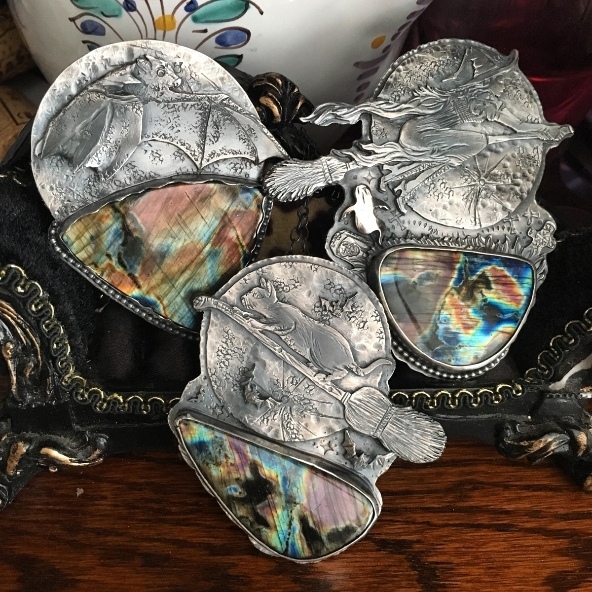 3 gazillion  - thornbirdjewelry - thornbird | ello