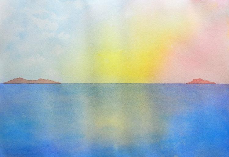Horizon Watercolour - euric | ello