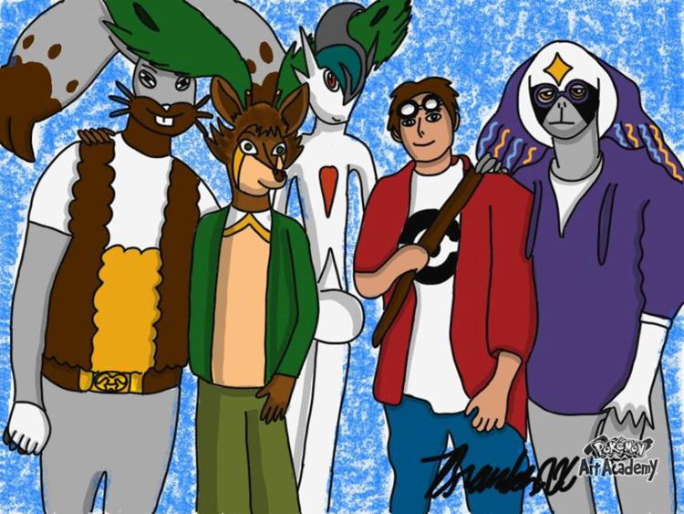 Team Sawsbuck Wilde - PokémonArtAcademy - brandon_omega-x | ello