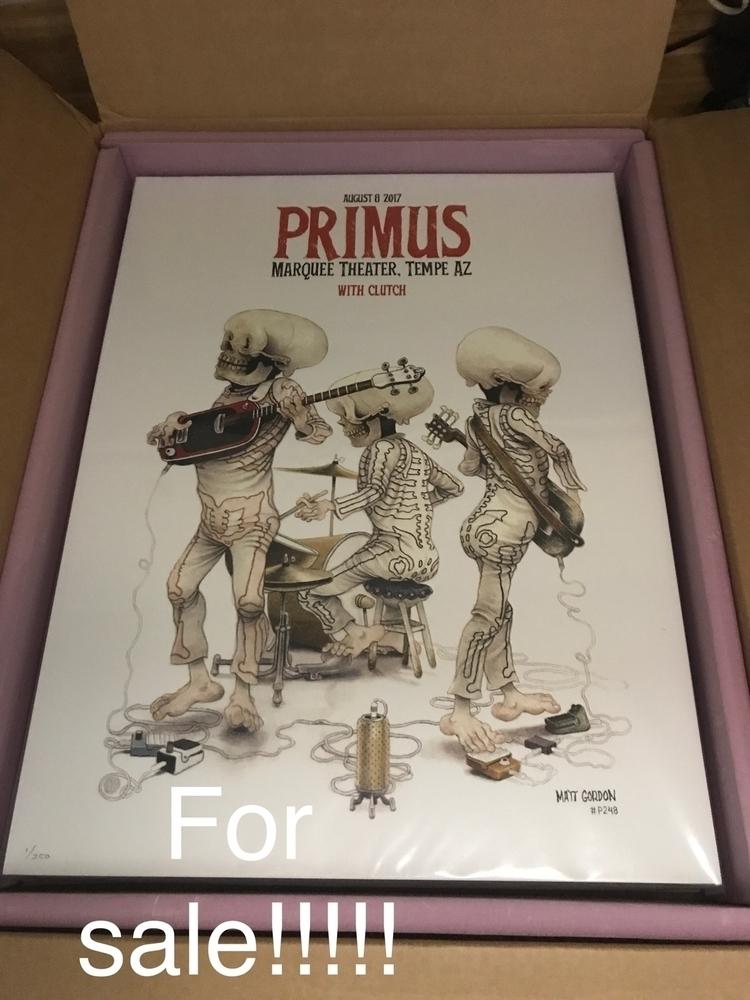 posters primus sale. 18x24 inch - _mattgordon_   ello