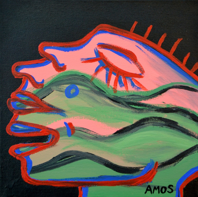 'Mini - small painting inspired - amosduggan | ello