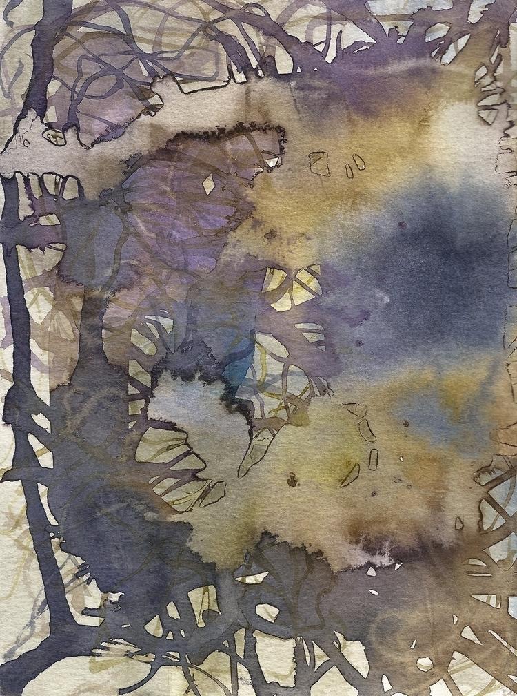 Hiding place Acrylic painting p - luciesalgado | ello
