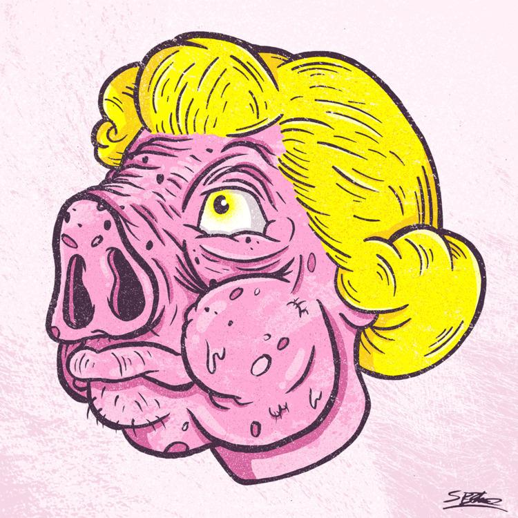 Pig Head samuelbthorne.com Inst - samuelbthorne | ello