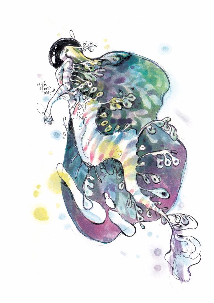 leaf - mermay2017, mermaid, mermay - sillyjellie | ello
