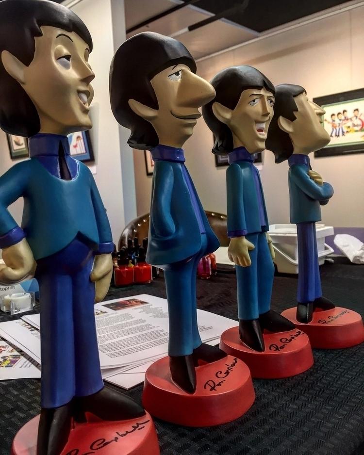 Today day! Beatles Cartoon Pop  - bitfactory | ello
